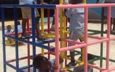 Des jeux de cour pour la maternelle Les Perles